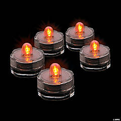 Orange Submersible LED Lights