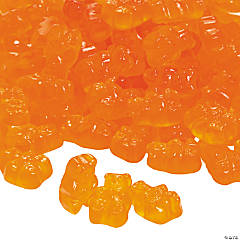 Orange Teddy Bears Gummy Candy