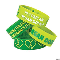Organ Donor Awareness Big Band Bracelets