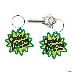 Organ Donor Awareness Key Chains