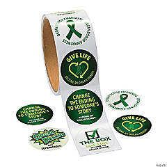 Organ Donor Awareness Stickers