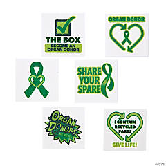 Organ Donor Awareness Tattoos