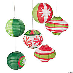 Ornament Hanging Paper Lanterns