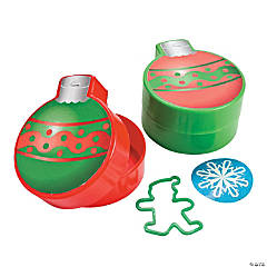Ornament-Shaped Filled Containers
