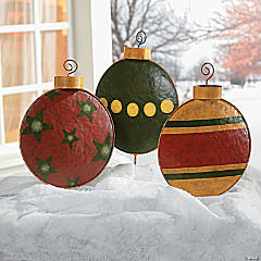 Ornament Yard Stakes