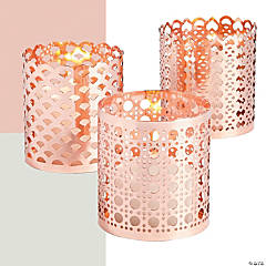Ornate Candle Holder Set