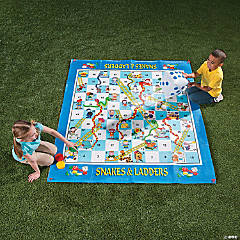 Outdoor Snakes & Ladders Game