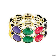 Oval Multicolor Bracelet Craft Kit