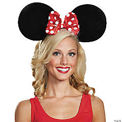 Oversized Minnie Mouse Adult Ears  for Adults