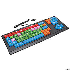 Oversized Wireless Keyboard with USB plug
