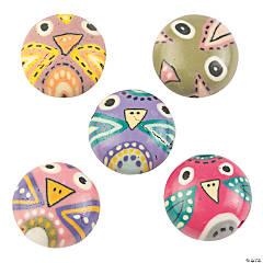 Owl Beads - 11mm