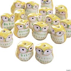 Owl Beads - 15mm