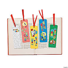 Owl Bookmarks with Stickers