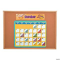 Owl Bulletin Board Calendar