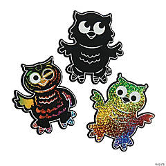 Owl Magic Color Scratch Activities