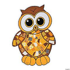 Owl Mosaic Sticker Scenes