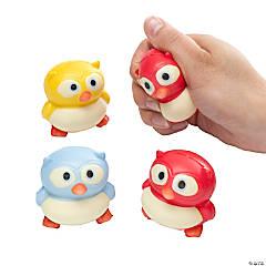 Owl Stress Toy Assortment