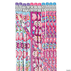 Owl Valentine's Day Pencils