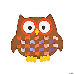 Owl Weaving Mat Craft Kit