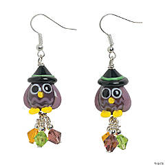 Owl Witch Lampwork Earring Kit