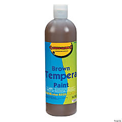16 oz. Brown Tempera Paint