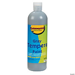 16 oz. Gray Tempera Paint