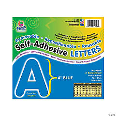 Pacon® Blue Self-Adhesive Letters