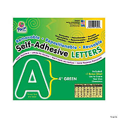 Pacon® Green Self-Adhesive Letters
