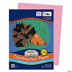 Pacon® Riverside® Construction Paper - Pink