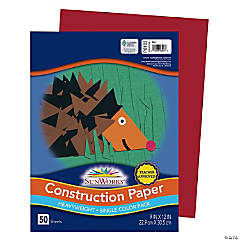 Pacon® Riverside® Construction Paper - Red