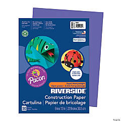 Pacon® Riverside® Construction Paper - Violet