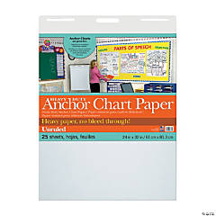 Pacon<sup>®</sup> Heavy-Duty Unruled Anchor Chart Paper
