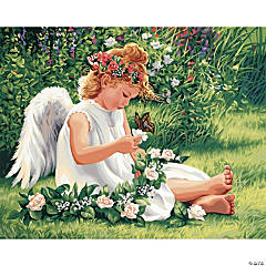 Paint By Number Kit-Darling Angel