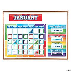 Paint Chip Bulletin Board Calendar
