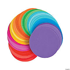 Paint Chip Circles