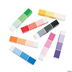 Paint Chip Eraser Sticks