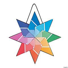 Paint Chip Kite Stars Craft Kit