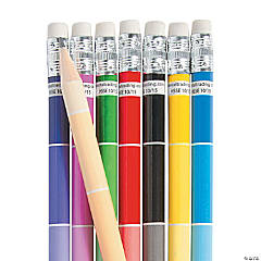 Paint Chip Pencils