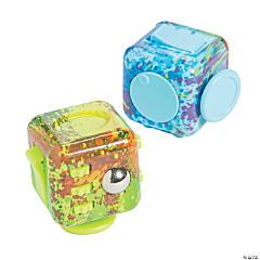 Paint Splatter Fidget Busy Blocks