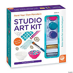 Paint Your Own Porcelain: Studio Art Kit
