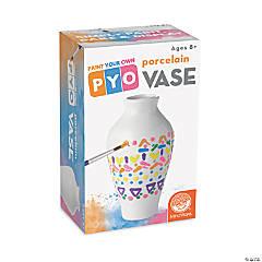 Paint Your Own Porcelain Vase: Single
