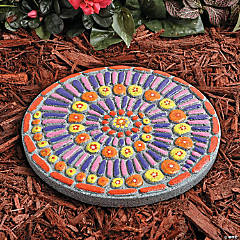 Paint Your Own Stepping Stone: Mosaic