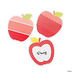 Painted Palette™ Poppy Red Apple Cutouts