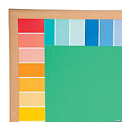 Painted Palette™ Rainbow Paint Chip Border