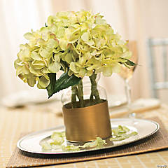 Painted Vase Centerpiece Idea