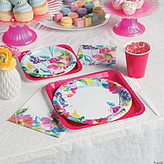 Painterly Floral Party Supplies