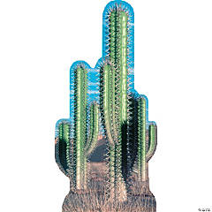 Pair Cactus Cardboard Stand-Up