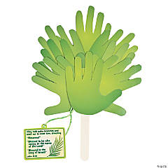 Palm Leaf Handprint Fan Craft Kit