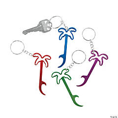 Palm Tree Bottle Opener Keychains