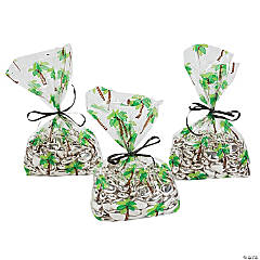 Palm Tree Cellophane Bags